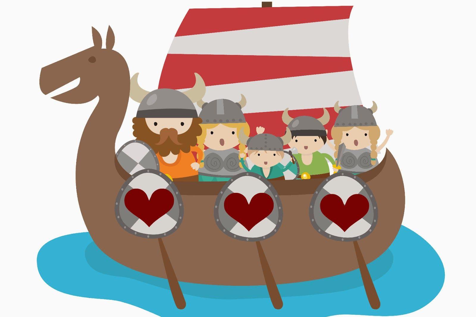 Free Printable Valentine Viking Restless Risa