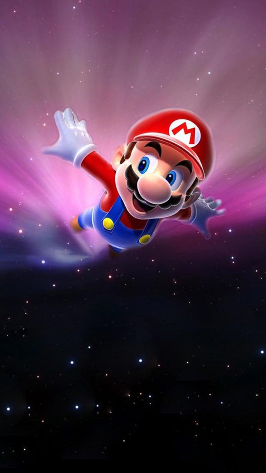 Super Mario Flying Poster Background Iphone 6 Plus Wallpaper Ilikewallpaper Com Android Wallpaper Cool Wallpapers For Phones Mario Art