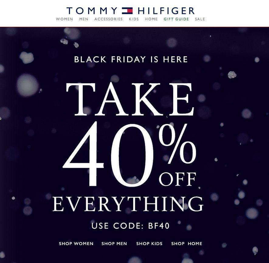 c579e93d Tommy Hilfiger Black Friday 2014 Ad Page 1   Saker att köpa   Tommy ...
