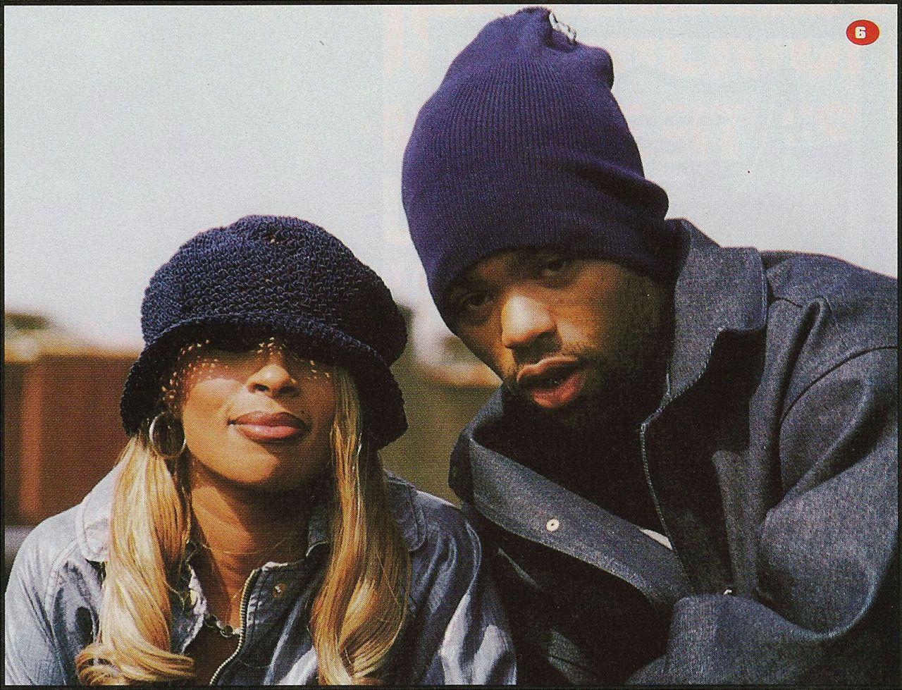 69dc19f71e5 Mary J. Blige and Method Man Mary J Blige