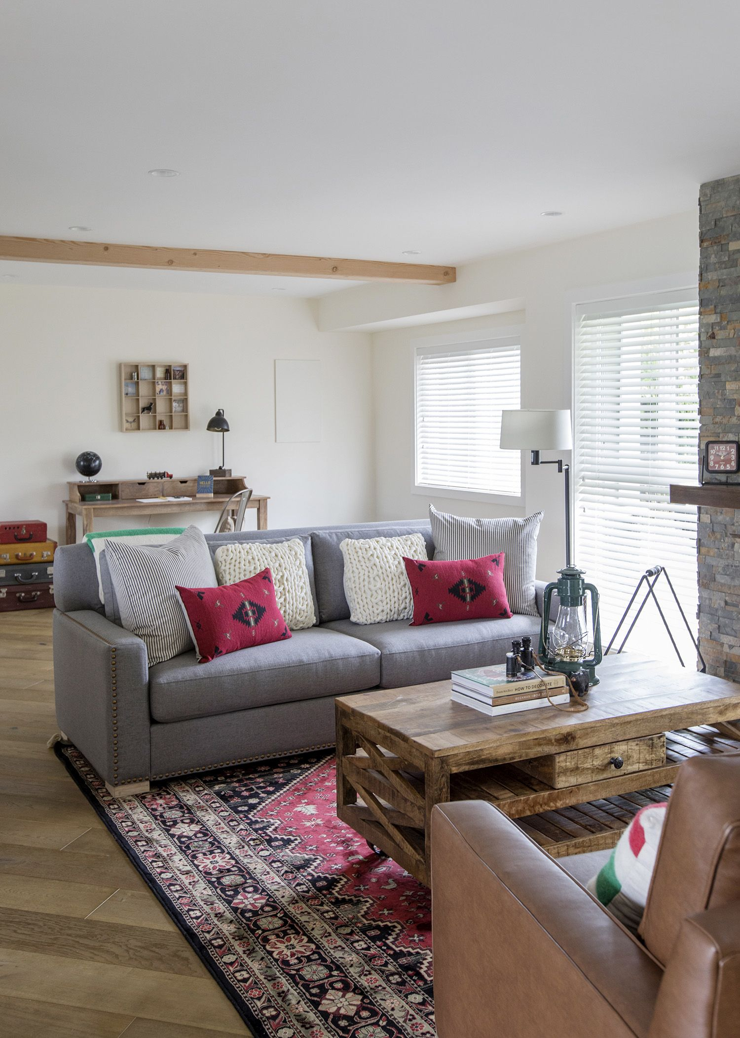See Inside a Suburban Home With a Cottage Concept | Rustic interiors ...