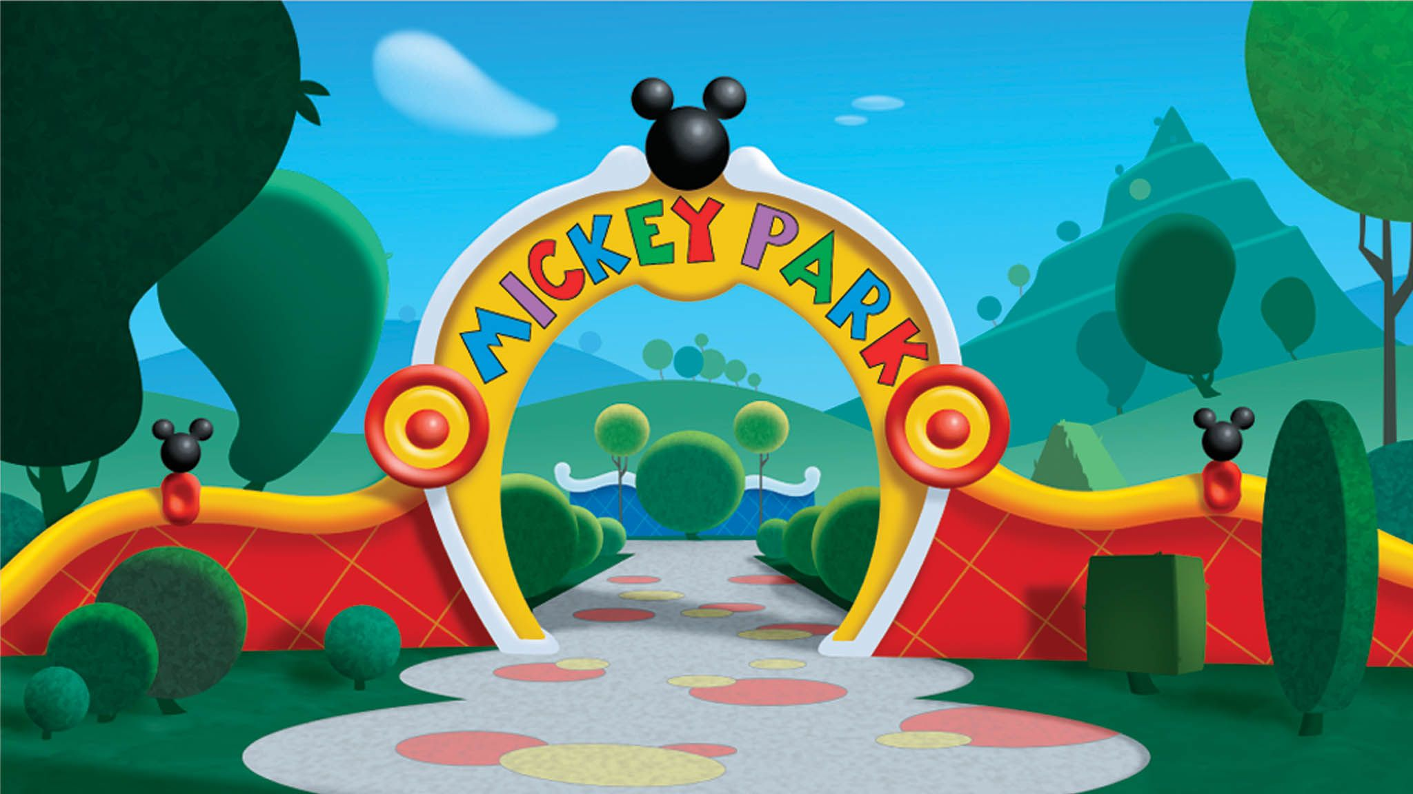 Mickey Mouse Park Cartoon Hd Wallpaper Mickey Mouse