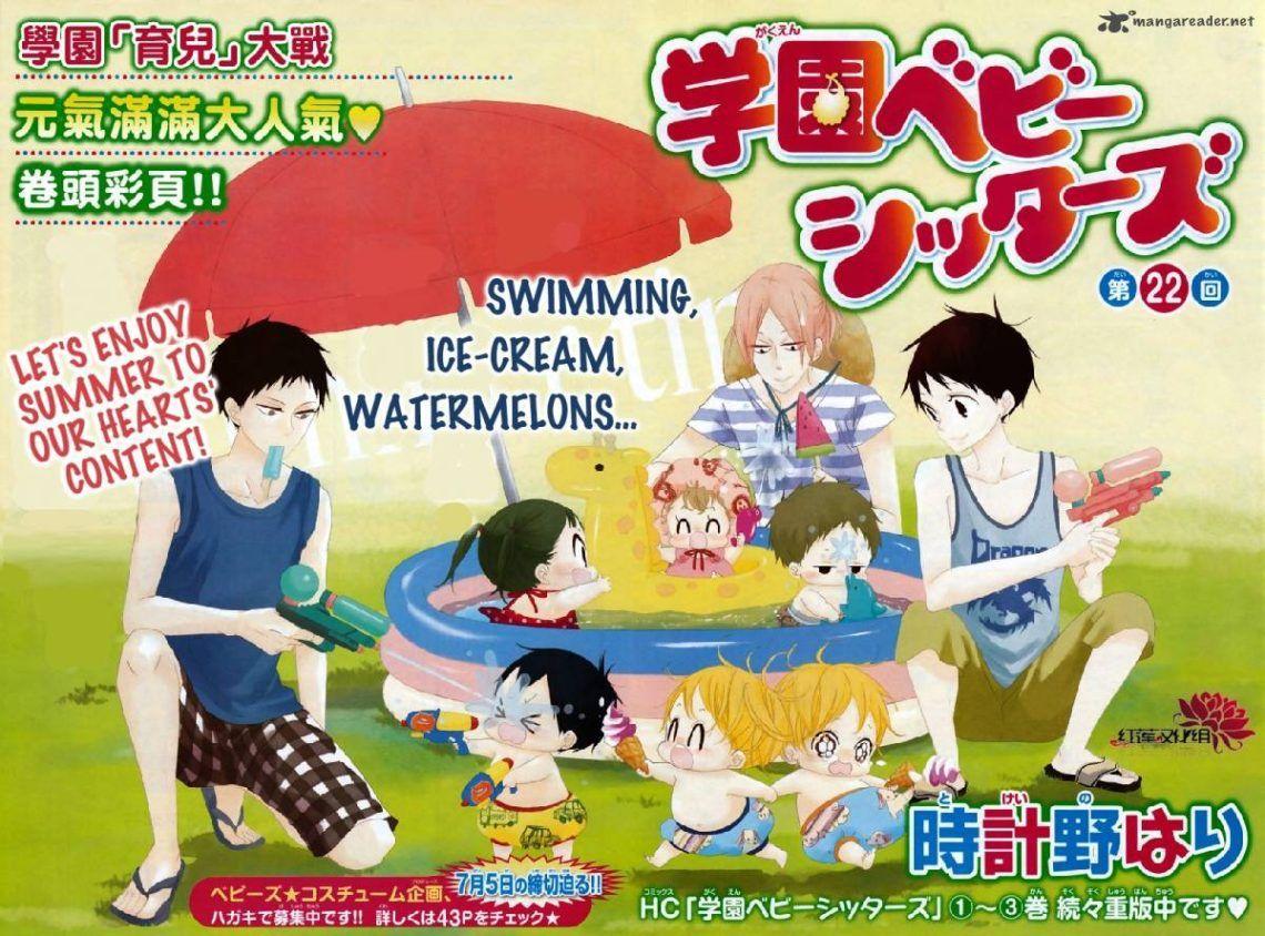Anime Dari Manga Populer Gakuen Babysitter Akan Tayang