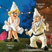 Party Gnomes Outdoor Garden Statues | Collections Etc.#collections #garden #gnom...#collections #etccollections #garden #gnom #gnomes #outdoor #party #statues
