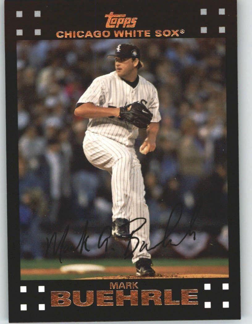 2007 Topps 165 Mark Buehrle Chicago White Sox (Baseball