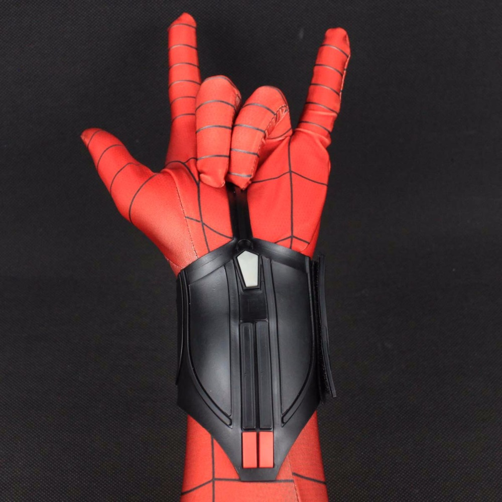 1 Pieces Spider Man Homecoming Web Shooter Decorate Cosplay Peter Parker Superhero Spiderman Halloween P Spiderman Homecoming Superhero Spiderman Costume Props