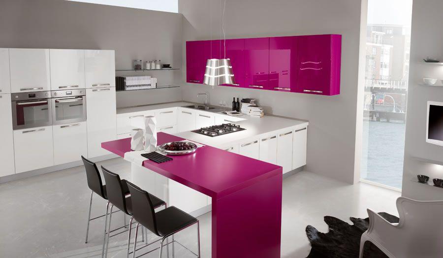 Cucina fucsia cerca con google arredamento d interni kitchen