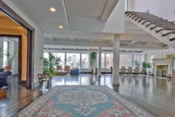 Google Chairman's Eric Schmidt's $15 million penthouse at31 W. 21st Street in Chelsea, NYC, Manhattan #luxury apartment