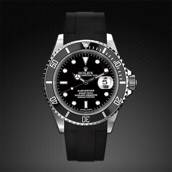 Submariner Rubber B Strap in 2019