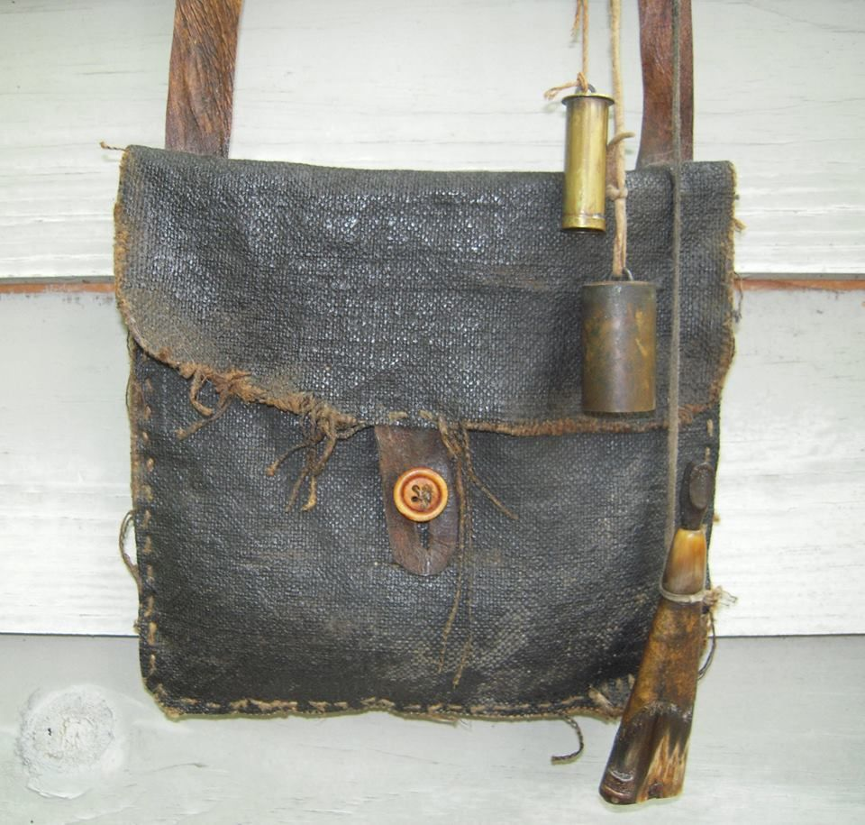 Possibles Shooting Bag Leather Holster