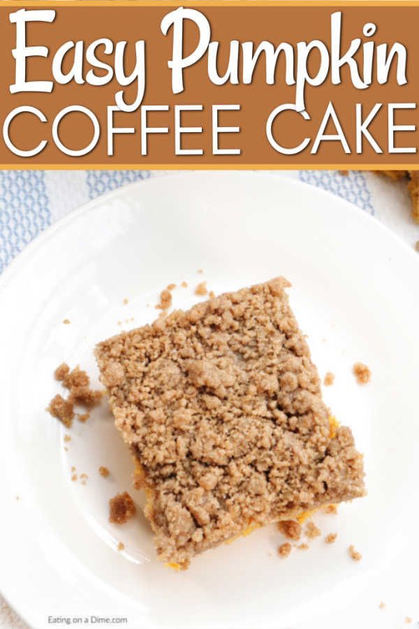Pumpkin Coffee Cake | Recipe | Coffee cake, Pumpkin coffee ...