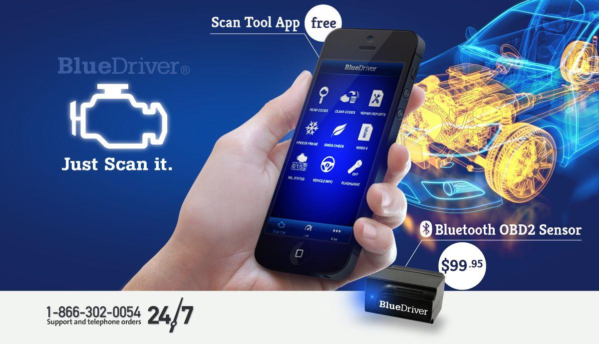 Just scan it obd2 obd2 scanner air vent phone holder