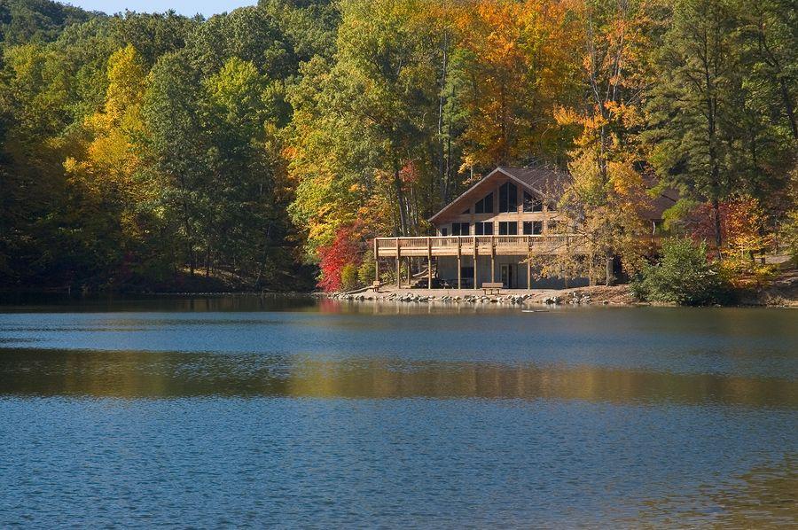 Lakefront homes lake cabins lake house norris lake