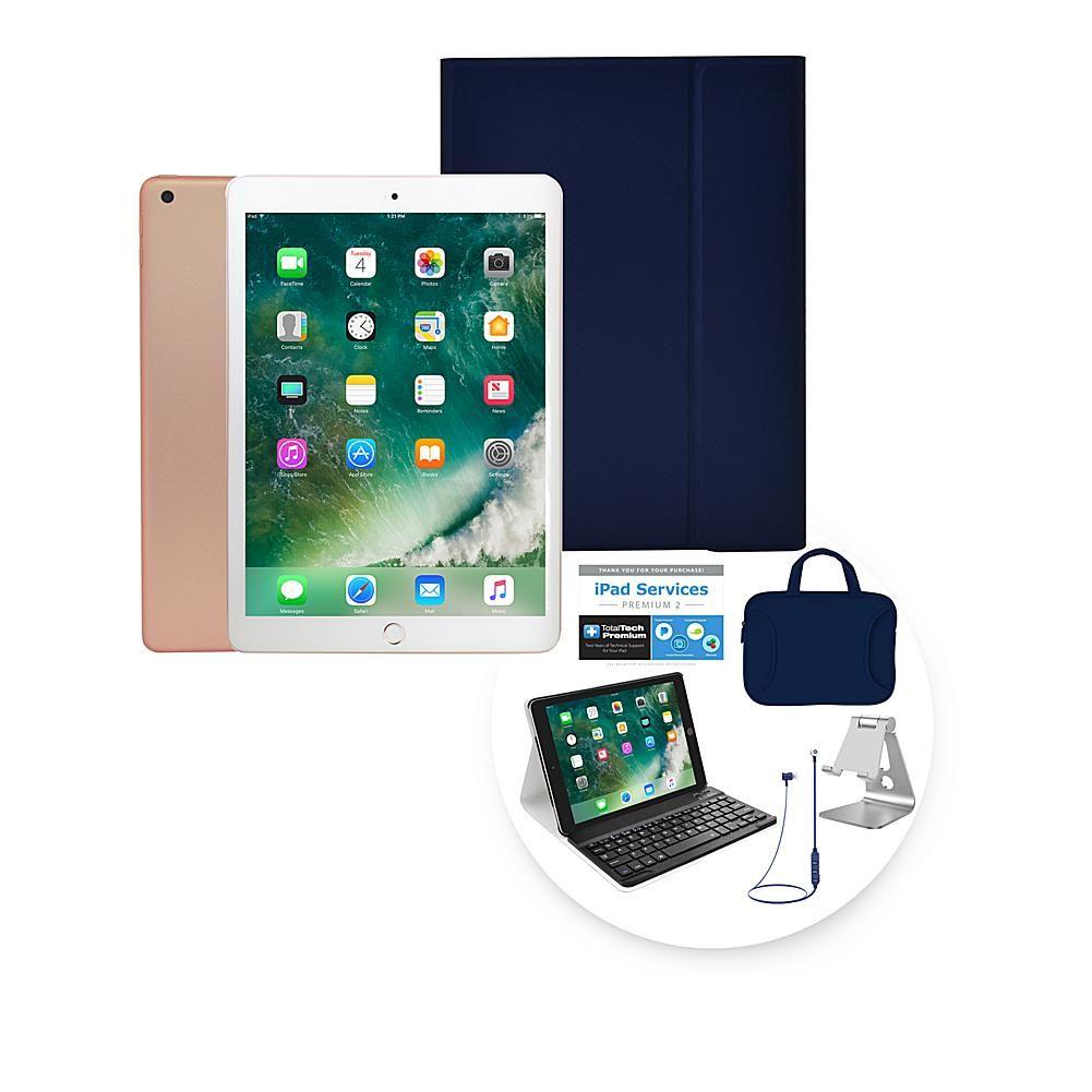 2018 Apple Ipad 9 7 128gb Tablet W Keyboard Case Earbuds Gold 8783334 Apple Ipad Ipad Apple