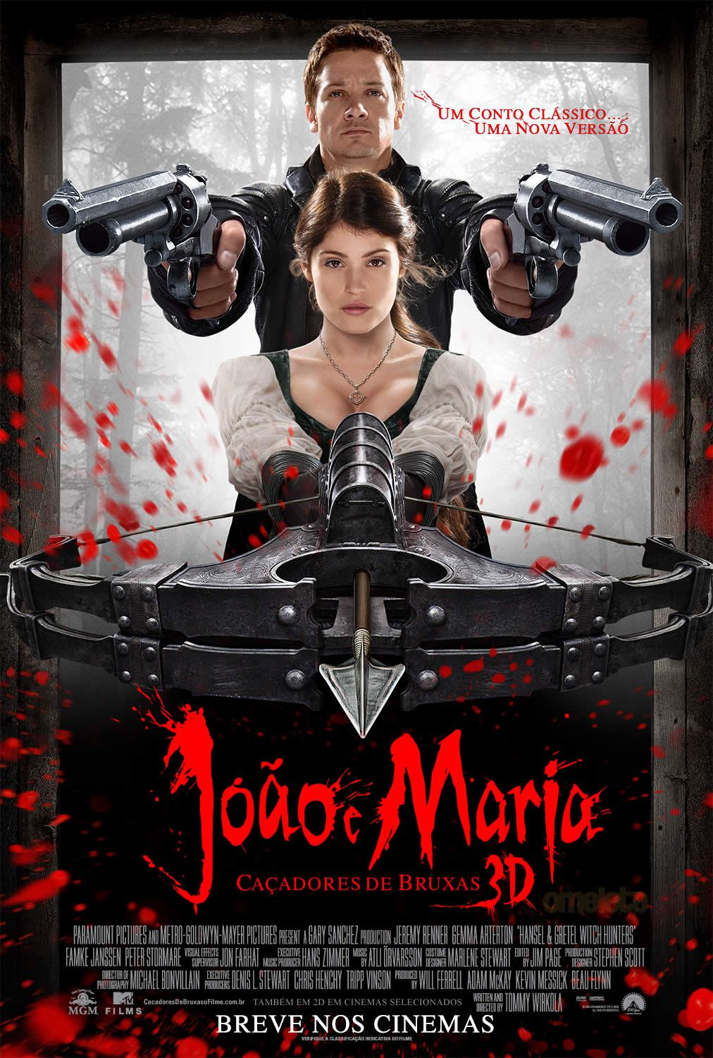 Hansel Gretel The Witch Hunters Showing Jan 25 2013 Baixar Filmes Filmes Cacadores