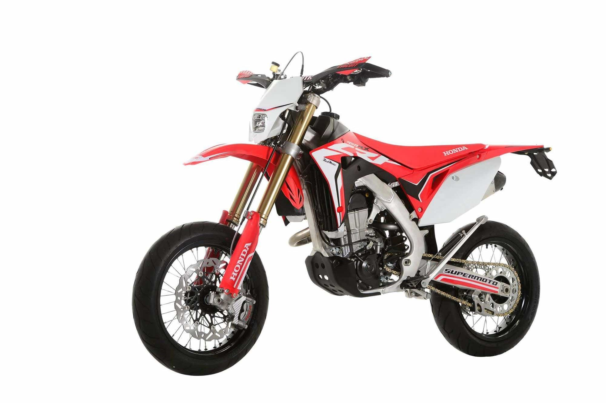 StreetLegal 2017 Honda CRF450R SuperMoto Bike that YOU