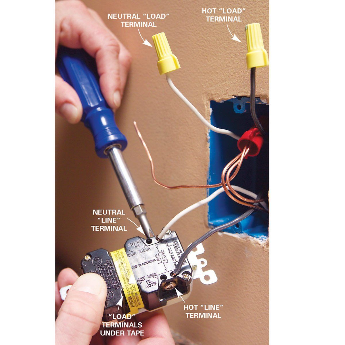 wiring a switch and outlet the safe and easy way family handyman the family handyman [ 1200 x 1200 Pixel ]