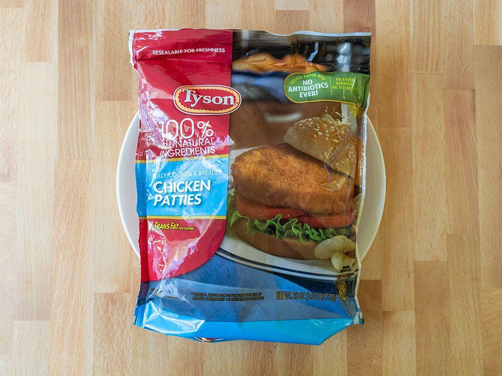 How to cook tyson frozen chicken patties in the air fryer