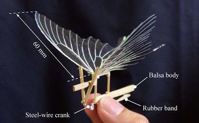 How To Make A Rubber Band Powered Ornithopter Diy