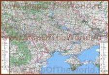 Karty Ukrainy Karta Ukraina