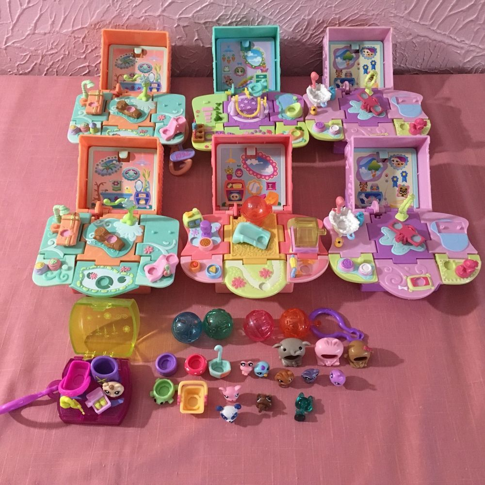 Littlest Pet Shop Teensies Tiny Pets Popup Playsets Balls Accessories Lot Lps Littlest Pet Shop Pet Shop Playset