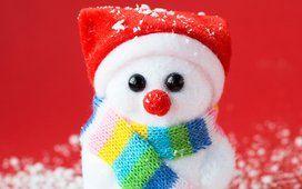 * * * pupazzo di neve a natale tempo * * *