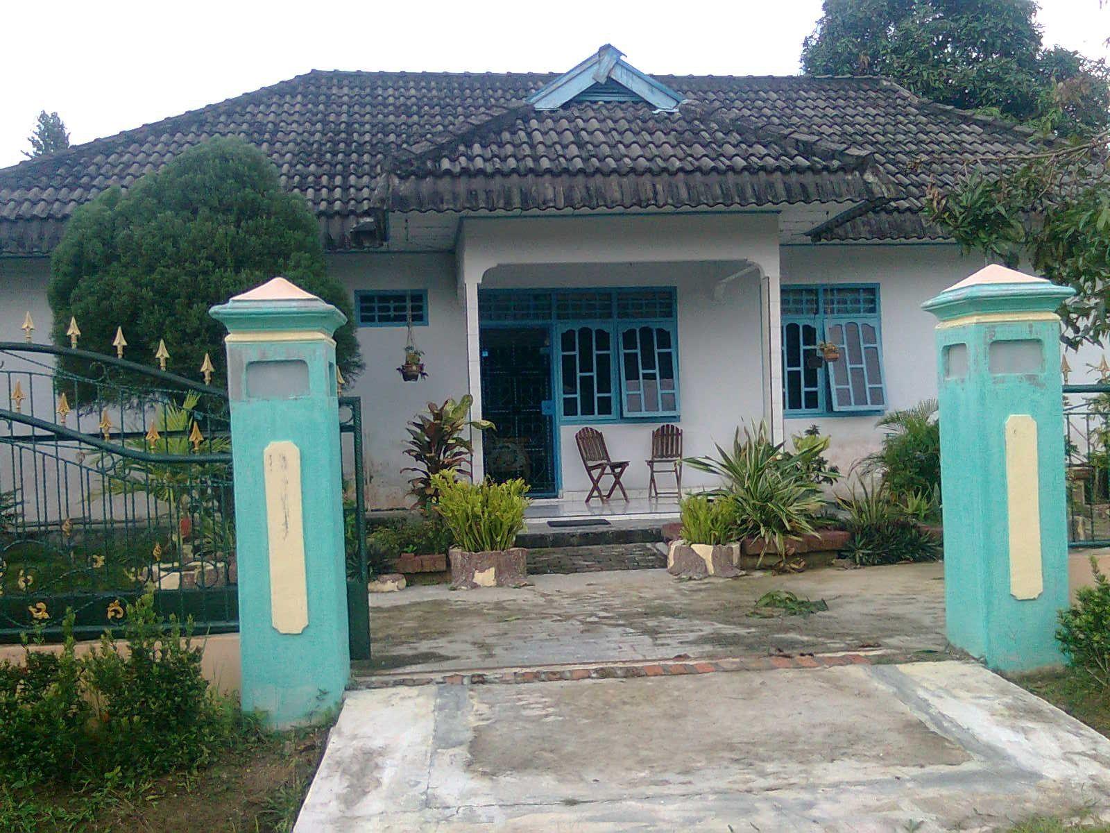 Desain Pintu Rumah Dengan Warna Hijau