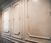 Detailed walls constructed with Amrami Design Group