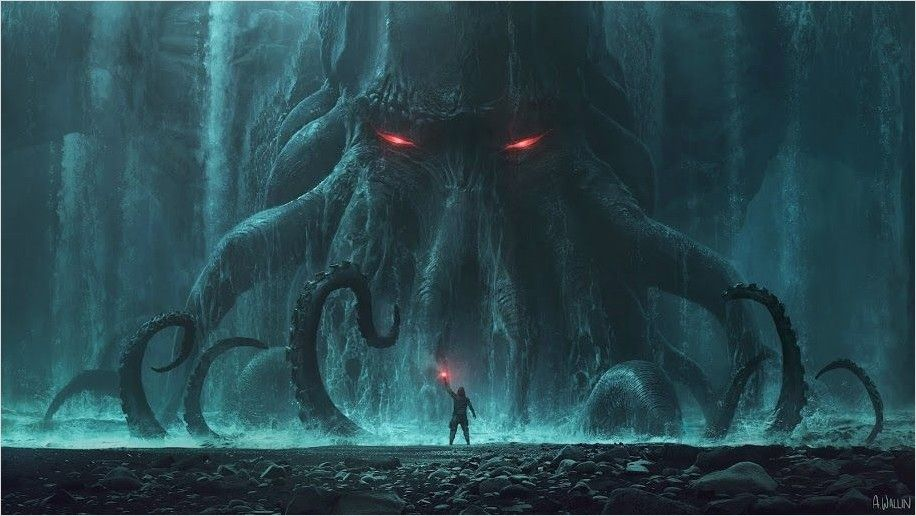 4k Fantasy Wallpaper For Pc In 2020 Iphone Wallpaper Hipster Wallpaper Pc Lovecraft Monsters