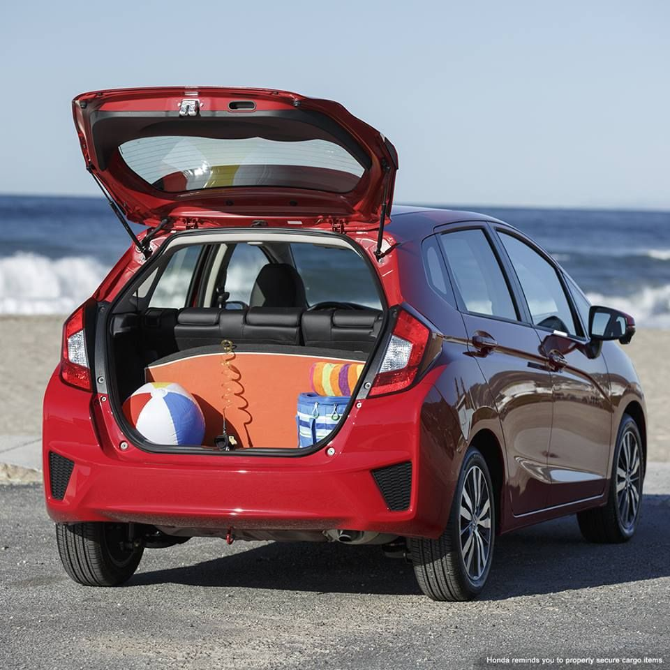 The Honda Fit is all about summer fun. http//www