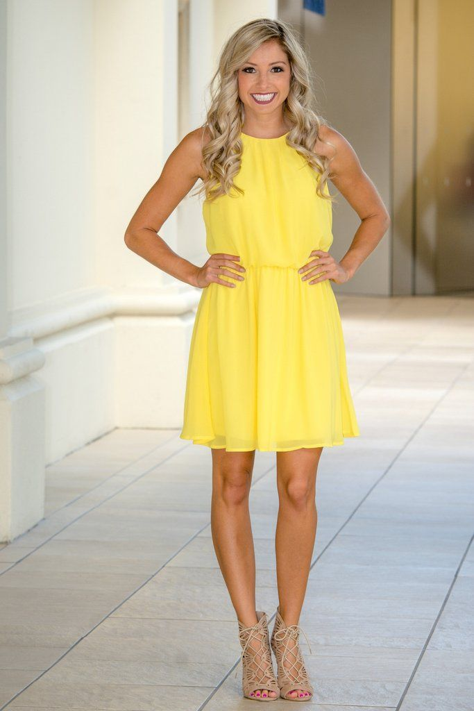 e1b51bc8424c Pocketful of Sunshine Yellow Dress Shop Simply Me Boutique Shop SMB – Simply  Me Boutique Vestidos
