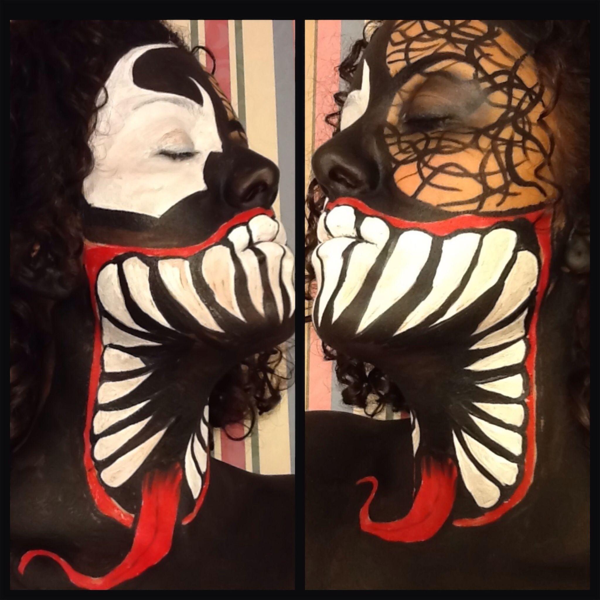 Venom face paint using wolfe brothers paint lizfloresmua venom face paint using wolfe brothers paint lizfloresmua ig colorjunkieliz baditri Images