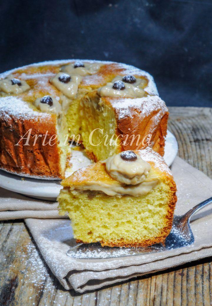 Torta Nua Con Crema Al Caffè Torta Facile Anche Bimby 6 667778