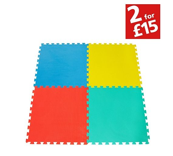 Buy Chad Valley Foam Protector Tumbler Mats at Argos.co.uk - Your ...