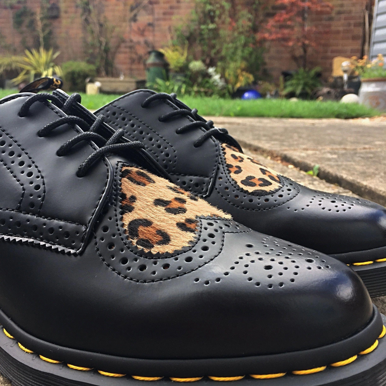 dr martens leopard heart boots