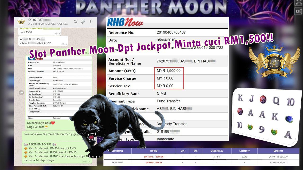 Grand Empire Whatsapp 918kiss Panther Moon Member Dpt Major Jackpot Bernilai RM958 Minta Cuci…