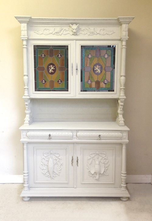 French Antique Henri Ii Dresser With Original Stain Gl C 1900 Furniture