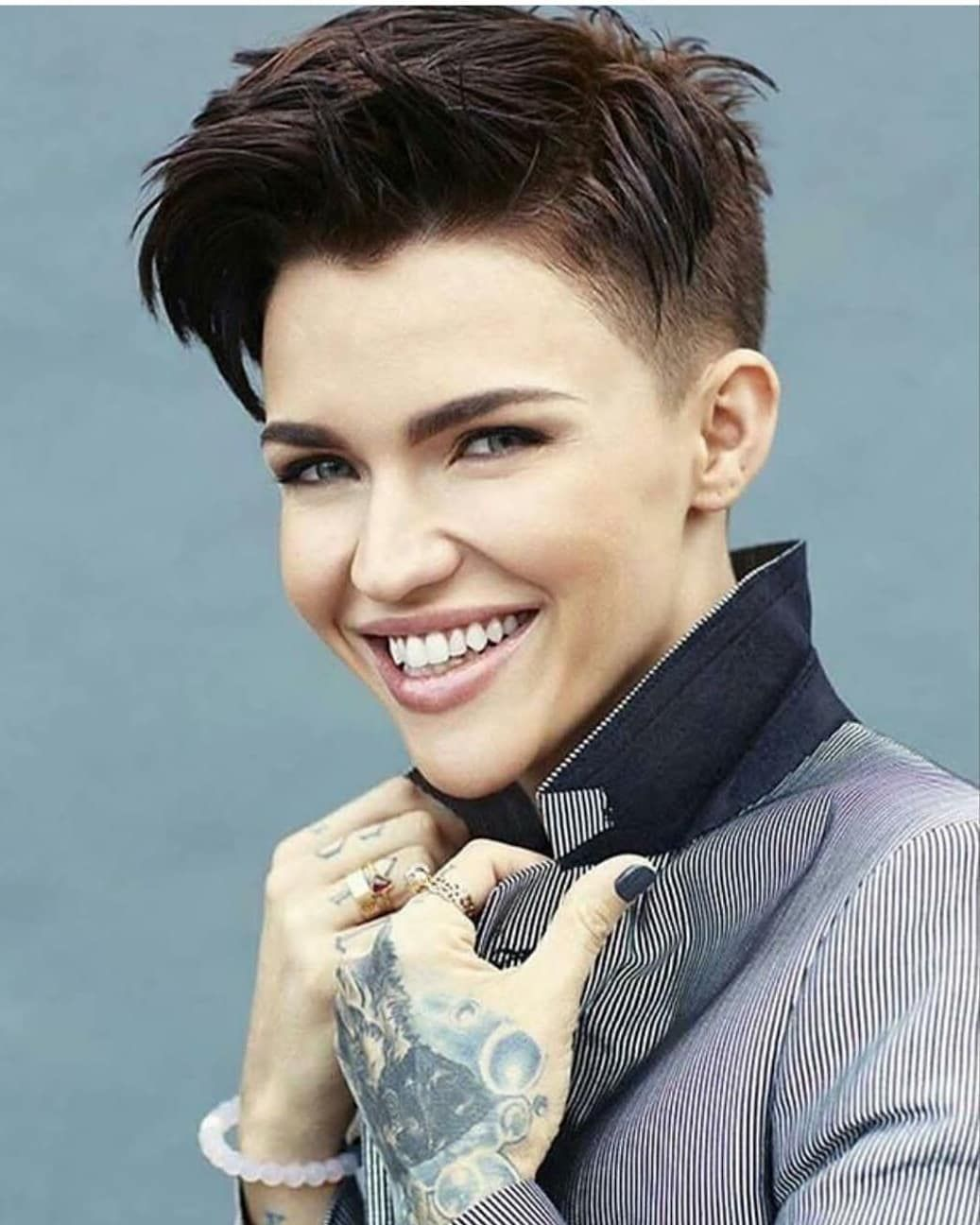 Pixie Cut Ruby Rose