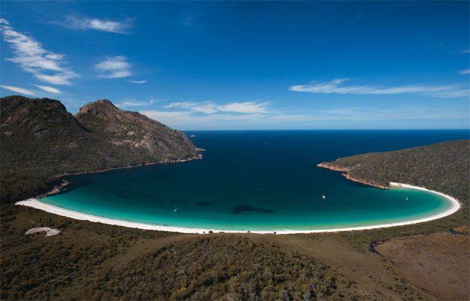 Tasmania's East Coast, Australia.