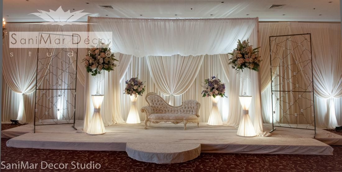 Google All Elegant Backdrops: Elegant Wedding Stage Decor - Google Search