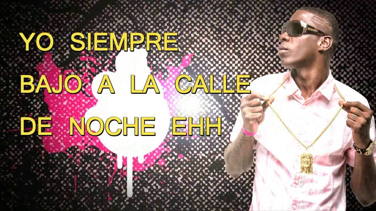 PABLO PIDDY RAP PA LA CALLE DE NOCHE  VIDEO LYRICS OFFICIAL BY BAKANIN P...