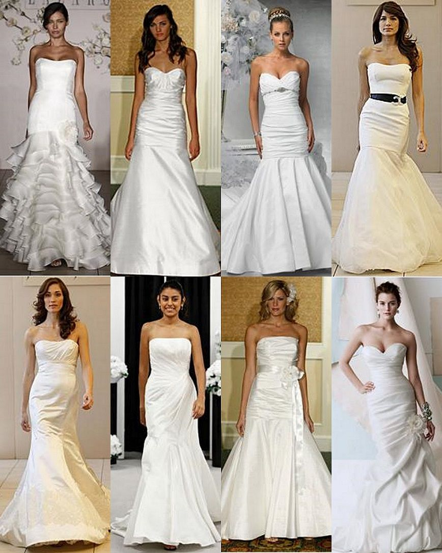 Eight different wedding dresses types of wedding dresses backless eight different wedding dresses types of wedding dresses backless sleeveless deep v neck models ombrellifo Image collections