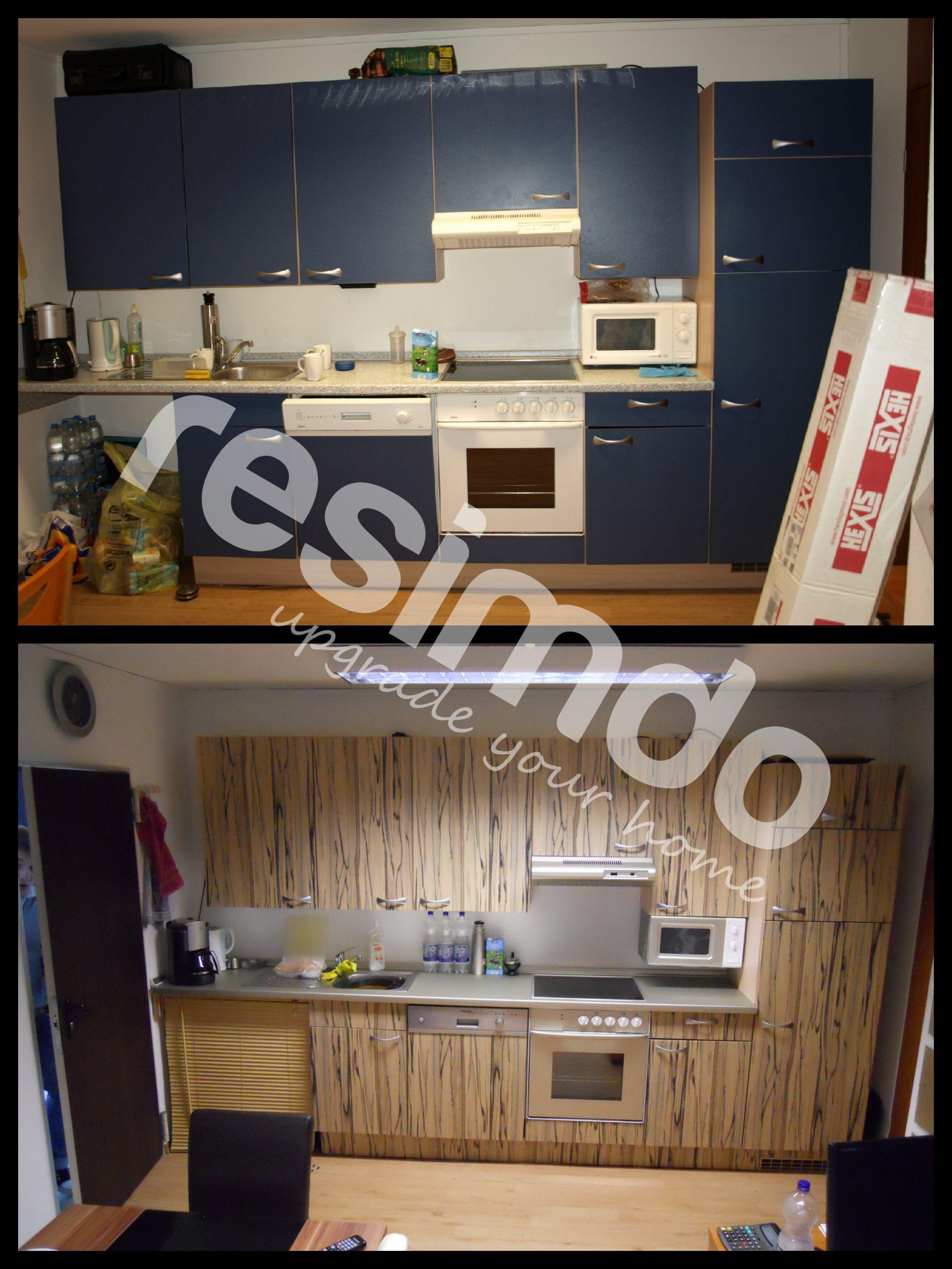 badezimmer #renovieren #rot #möbel #folie #upcycling ... - Küche Renovieren Folie