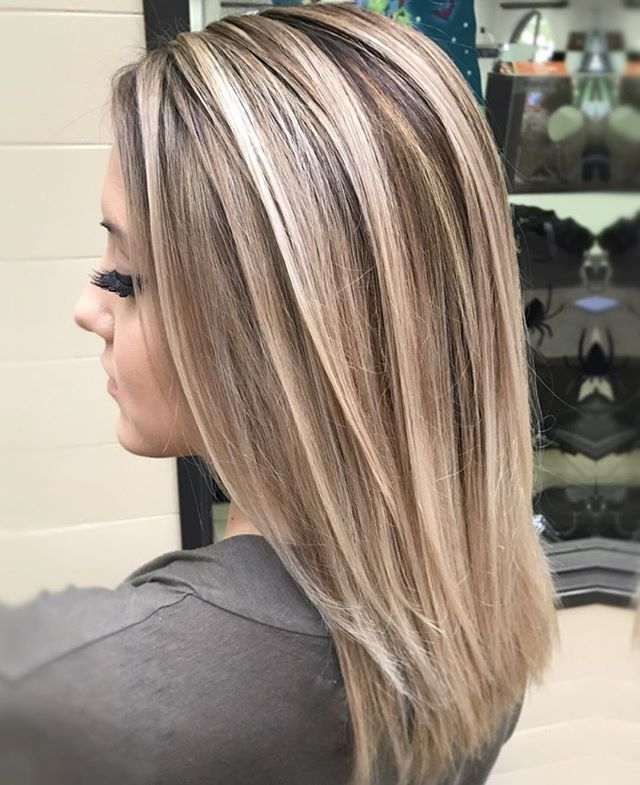 Szke barna frizura pinterest hair coloring hair style and cool ashy blonde balayage highlights with neutral shadow root urmus Images