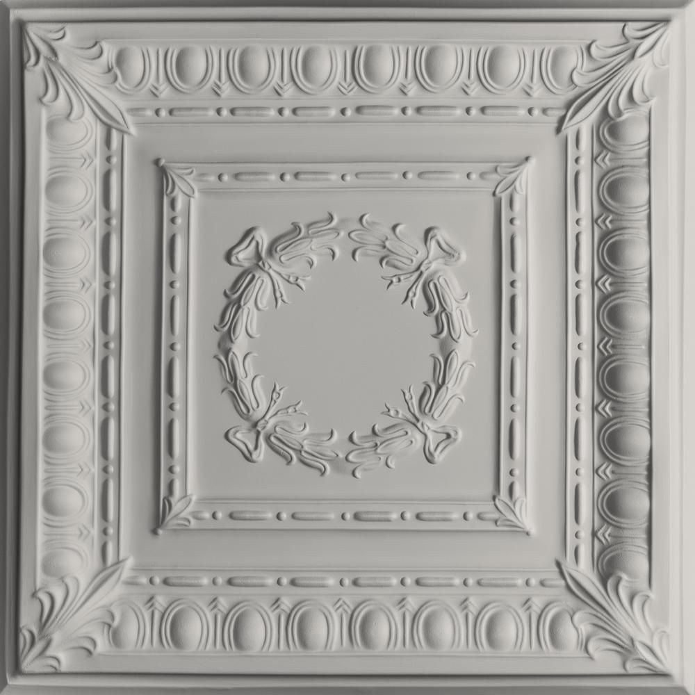 Ceilume Empire Stone 2 Ft X 2 Ft Lay In Or Glue Up Ceiling Panel Case Of 6 V3 Emp 22sto 6 Ceiling Tiles Tin Ceiling Tiles Ceiling Panels
