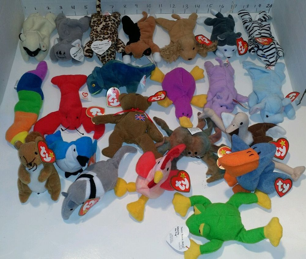 Ty Miniature Beanie Babies McDonalds Series 1993 Collectable Lot 22 tags  Ty   BEANIEBABY d6c4a3e7074