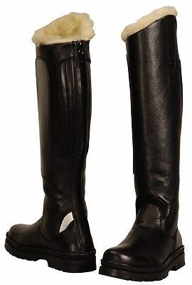 Bridle Parts and Accessories 183414: Tuffrider Tundra Fleece Lined Field Boots Regular Black W 9 Ld -> BUY IT NOW ONLY: $89.96 on eBay!