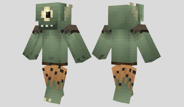 Ogre Skin Para Minecraft Paint A Large Eye On Noo And Paint The - Skin para minecraft o