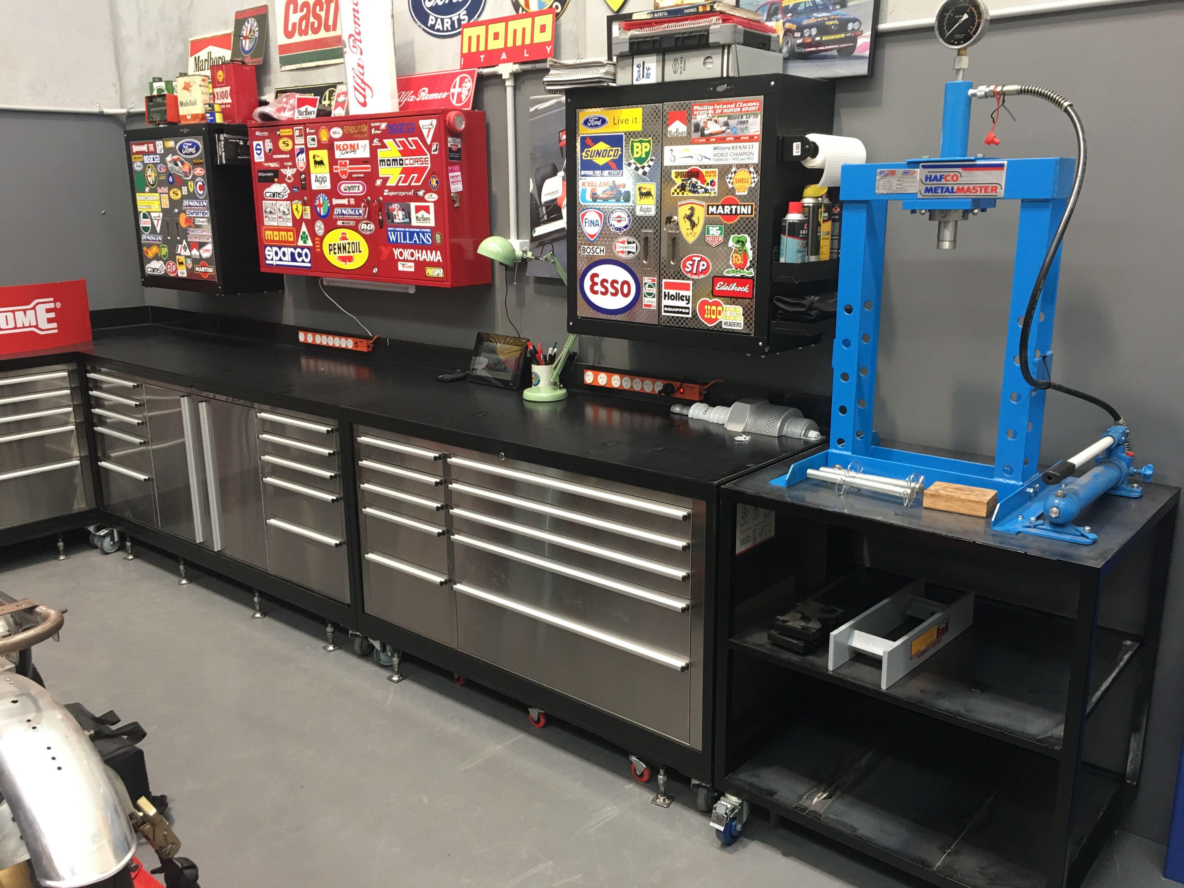 Pin By Gina Norton On Garage Garage Workshop Garage Design Garage Organization Diy
