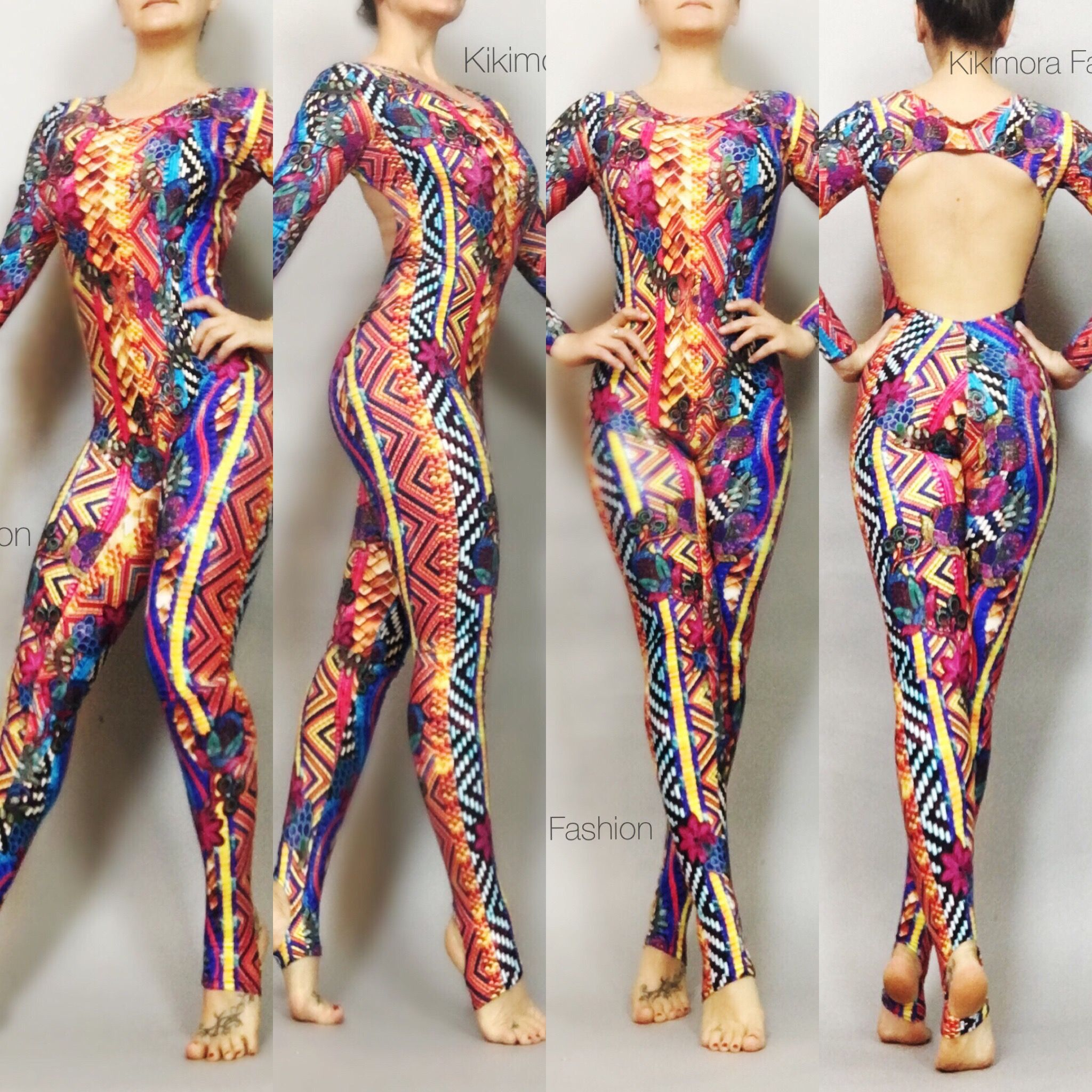 Psychedelic snake. 😍😍😍Catsuit 3f1ba19a3